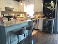 Completely furnished 3 bdrm , 1.5 bath VIEUX longueuil