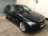 BMW 325D M Sport Auto, *Low Mileage* Sat Nav, Park Sensors, Heated Leather, 3 Month Warranty