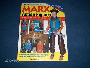 THE ENCYCLOPEDIA OF MARX ACTION FIGURES-HEATON-1999-PRICE GUIDE