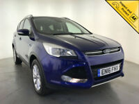 2016 FORD KUGA TITANIUM TDCI DIESEL STOP/START 1 OWNER FORD SERVICE HISTORY