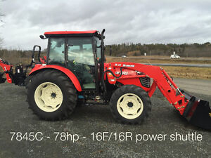 Branson 7845 Cab loader and NO HST for $490.61 a month !!