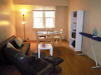 $550/ month Room ALL INCL 2 bedroom Downtown Furnshd Apt  SEPT 1
