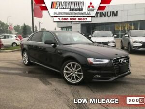 2015 Audi A4 2.0T quattro Progressiv  S-Line-Low Mileage-Turbo