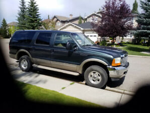 2001 Ford Excursion with new engine and transmission