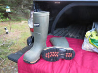 Baffin Steel toe boots mens size 7