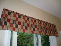 Quality Valance for window or patio door