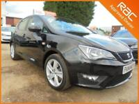 2017 17 SEAT IBIZA 1.2 TSI FR TECHNOLOGY 5DR 110 BHP FINANCE WITH NO DEPOSIT AND
