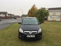 VAUXHALL ZAFIRA 1.9cdti DESIGN 12 MONTHS MOT 1 OWNER HALF LEATHER SEATS