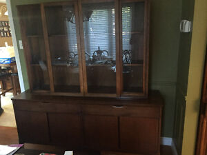 Dining room table with buffet/China cabinet London Ontario image 2