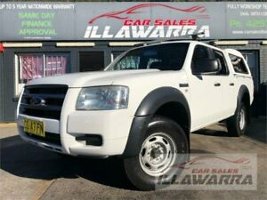 2008 Ford Ranger PJ 07 Upgrade XL (4x2) 5 Speed Automatic Dual Cab Pick-up Barrack Heights Shellharbour Area Preview