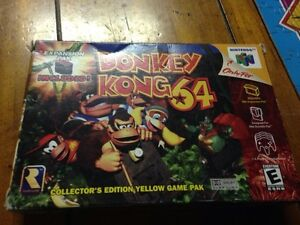 Donkey Kong 64 in Box