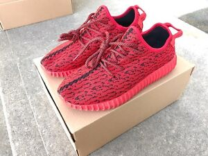 ADIDAS YEEZY ROUGE SIZE 11 HOMME