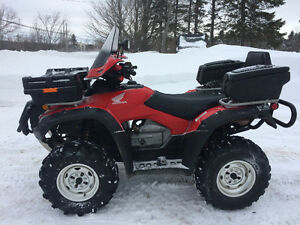 2014 HONDA 680 RINCON (PLOW AVAILABLE)    FINANCING