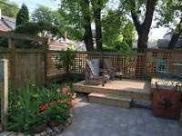 Fence and deck builder