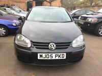 2005 Volkswagen Golf 1.6 FSI ( 115P ) Automatic Long Mot 4 Owners Bargain