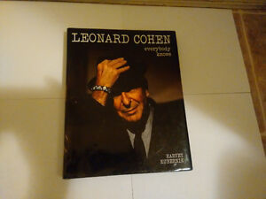 LEONARD COHEN : EVERYBODY KNOWS BOOK 4 SALE
