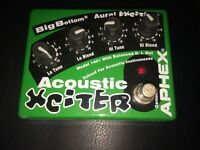 Apex acoustic exicter pedal ..SOLD