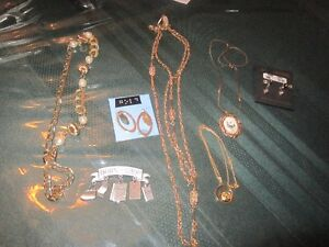 EARRINGS, NECKLACES & PINS
