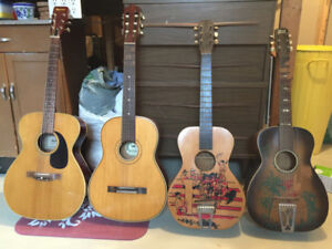 3 Guitars that need some work