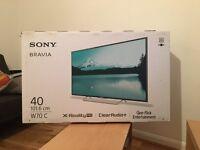 Sony Bravia 40inch HD TV W70C