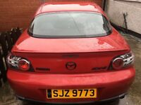 MAZDA RX8 231ps for spares or repair low mileage