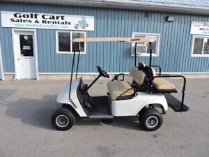 2006 EZGO GAS GOLF CART WITH REAR SEAT
