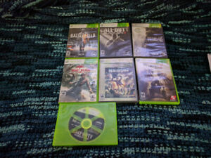 X-Box360, PS3, and Wii Games