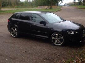 Audi A3 170 black edition