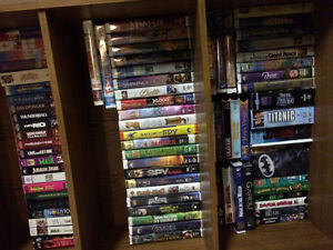 Various VHS children and some adult movies