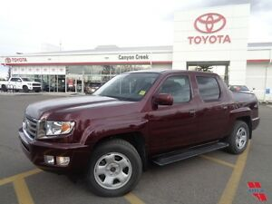 2013 Honda Ridgeline Touring Pkg w/Navi, low km, 2 sets of tires