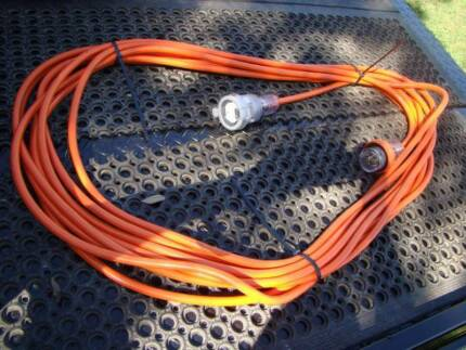 Three 3 Phase NEW 5 Pin 20 Amp 20 meter Extension Lead ,415 volt Ferny Hills Brisbane North West Preview