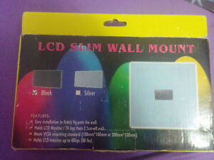 new in box LCD slim wall mount