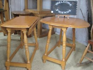 Solid Pine End Tables
