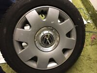 Vw tyre and rim