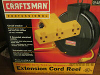 Craftsman Professional 30' Retractable Extension Cord Reel