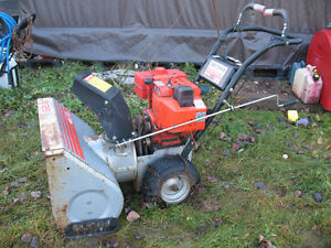 Craftsman II 8/25 6spd Snowblower, ready to go! Asking $275 obo Prince George British Columbia image 1