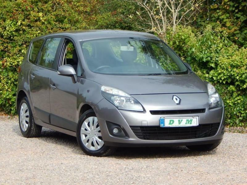 2010 10 RENAULT GRAND SCENIC 1.5 EXPRESSION DCI 5D 105 BHP DIESEL