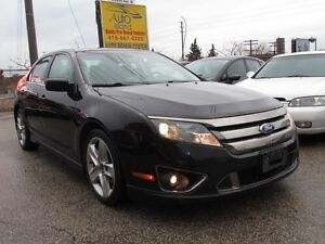 2011 Ford Fusion SPORT,AWD,Rear Camera,Leather,Sunroof,Alloys