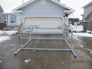CUSTOM CANTILEVER PONTOON, BOAT AND WAKEBOARD BOAT LIFTS Prince George British Columbia image 6