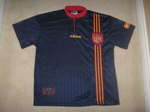 Men's Adidas Team Spain Soccer Jersey Shirt