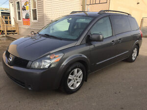 2005 NISSAN QUEST SL 207000 KM TV/DVD POWER SLIDING DOOR