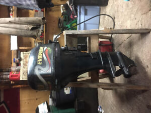 1999 evinude outboard 8 hp 4 stroke