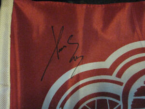 RED WINGS SIGNED PAVEL DATSYUK CAR WINDOW BANNER Windsor Region Ontario image 5