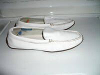 """""ROCKPORT """"Moccasin , all leather, washable, like NEW --- 8 US"