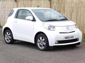 Toyota iQ 1.0 VVT-i 2009, White, 47 000 Miles, 6 Months AA Warranty