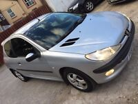 Peugeot 206 HDI 2001 88k cheap car px/swap yorkshire