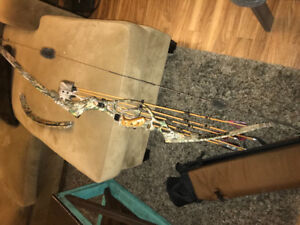 Recurve bow .. was game master 2 hunting package!!!