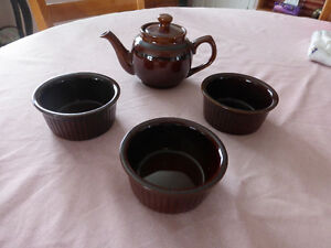 Brown Bake Wear - 13 Pieces - From England Kitchener / Waterloo Kitchener Area image 3