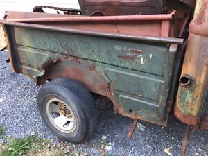 Box from a 50s Fargo or Dodge good metal for year