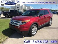 """2013 Ford Explorer """"XLT 4X4 LEATHER NAV""""   - Low Mileage"""